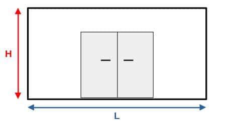 Comment mesurer le mur (largeur, hauteur)